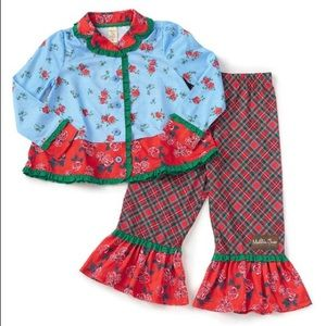 NWT Matilda Jane Long Winters Nap Girls Pajamas